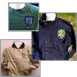 Coat of arms clothing