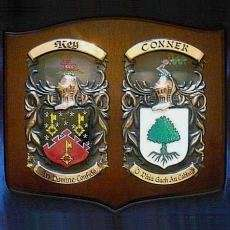 Wedding Gifts Delivered Ireland : Family Crest Prints with Free Worldwide Delivery