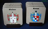 click here to view more family crest coasters