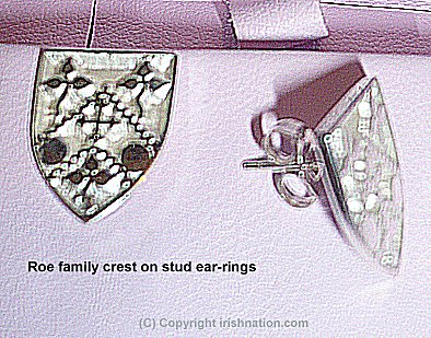 Family Crest Ear-Rings