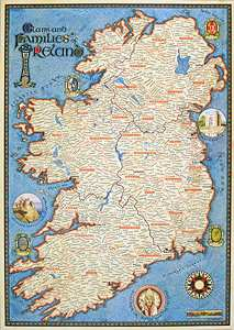 Irish Maps: Ancestral Map of Ireland